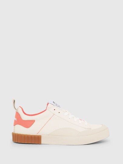 Diesel - S-BULLY LC W, White/Pink - Sneakers - Image 1