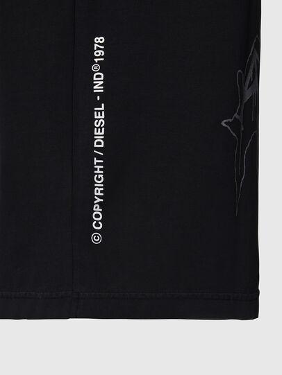 Diesel - T-JUST-X67, Black - T-Shirts - Image 4