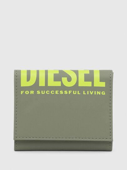 Diesel - YOSHINO LOOP II, Olive Green - Small Wallets - Image 1