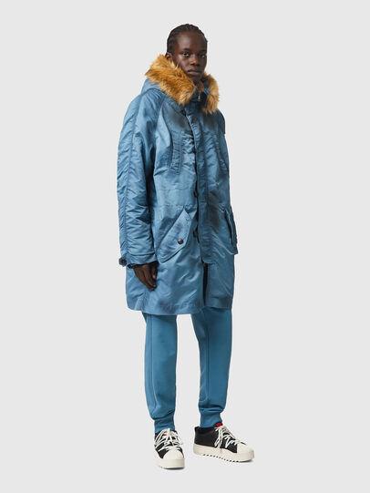 Diesel - W-CLAUD, Blue - Winter Jackets - Image 6