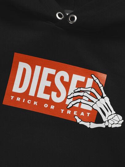 Diesel - SKELE-TSE, Black - Sweaters - Image 3