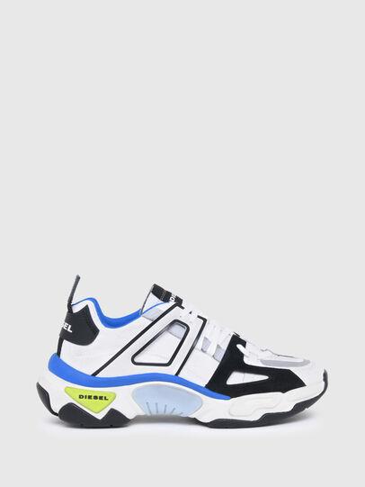 Diesel - S-KIPPER LOW TREK II, White/Black - Sneakers - Image 1