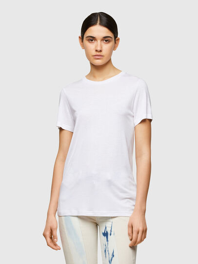 Diesel - T-SILY-A8, White - T-Shirts - Image 1