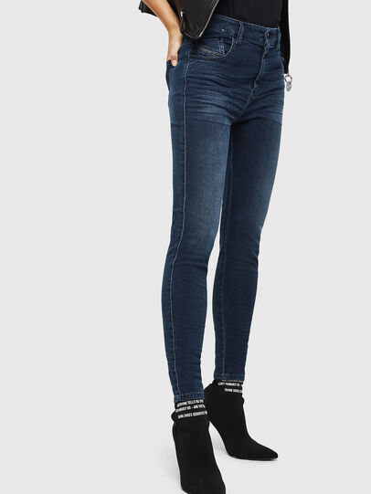 Diesel - Slandy High 084UT, Dark Blue - Jeans - Image 4
