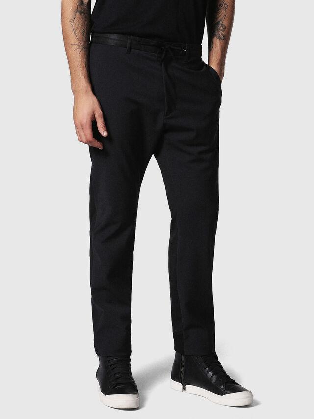 Diesel P-HONNYER, Black - Pants - Image 3