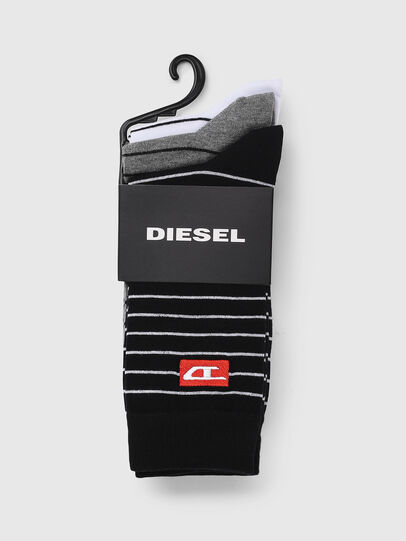 Diesel - SKM-RAY-THREEPACK, Multicolor/Black - Socks - Image 2