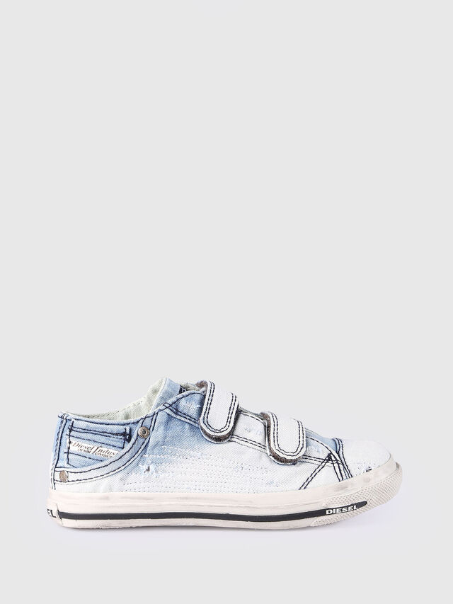 SN LOW 11 STRAP  DEN, Light Blue