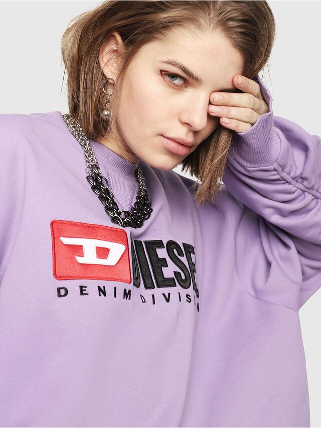 Diesel - F-ARAP, Lilac - Sweaters - Image 4