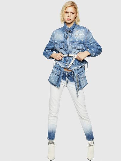 Diesel - DE-MERYL, Blue Jeans - Denim Jackets - Image 5