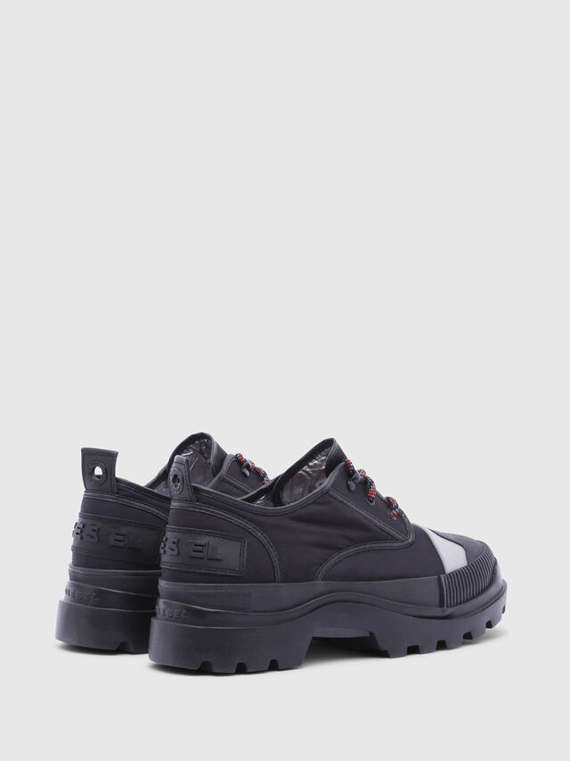 Diesel - D-VAIONT DBS, Black - Lace Ups and Mocassins - Image 3