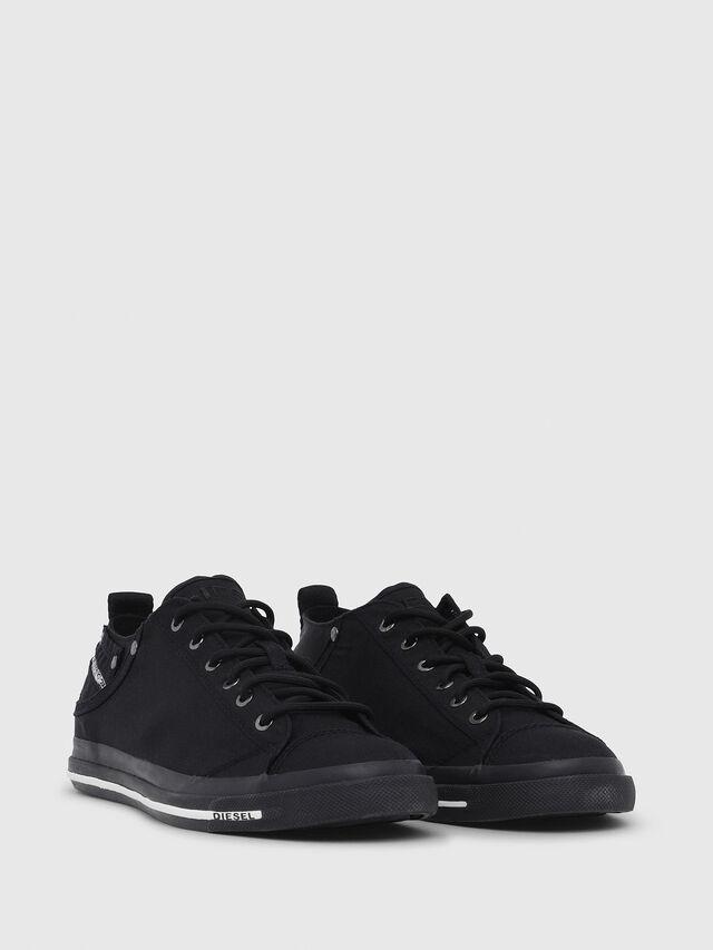 Diesel - EXPOSURE LOW I, Black - Sneakers - Image 2