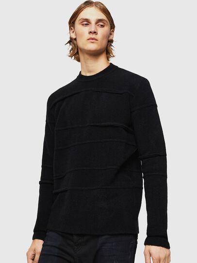 Diesel - KASTORN, Black - Knitwear - Image 1