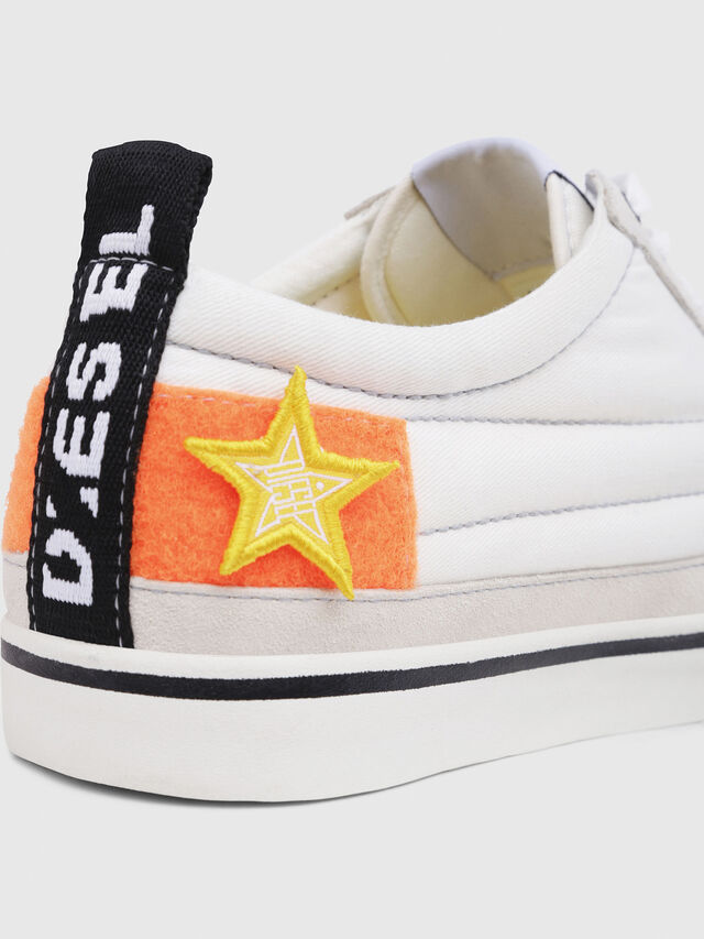 Diesel - D-VELOWS LOW PATCH, White - Sneakers - Image 4