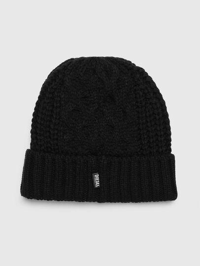 Diesel - K-KONEX, Black - Knit caps - Image 2