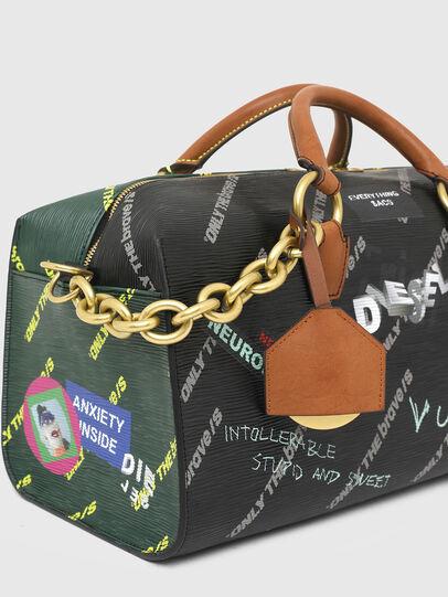 Diesel - TYLEBAG R, Black/Green - Travel Bags - Image 6