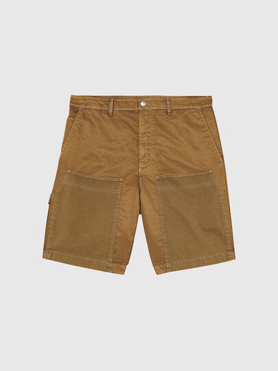 Diesel - P-TRENT-SHORT, Light Brown - Shorts - Image 1