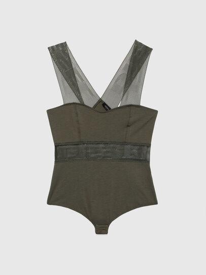 Diesel - UFBY-BODYMESH, Military Green - Bodysuits - Image 4