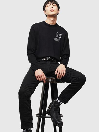 Diesel - CL-K-DEBNAM, Black - Knitwear - Image 5