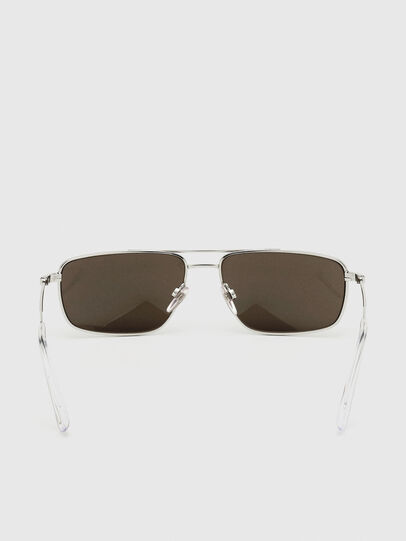 Diesel - DL0308, White - Sunglasses - Image 4