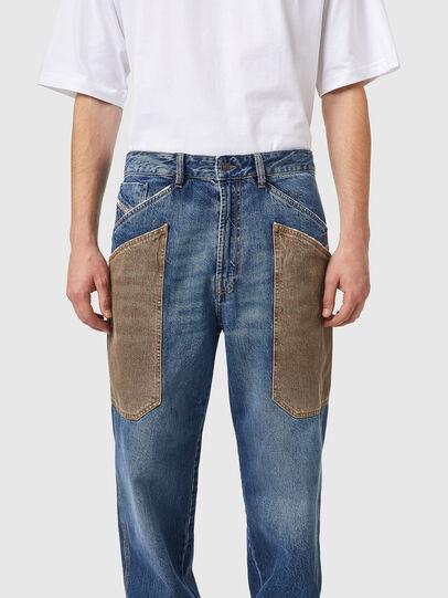 Diesel - D-Franky 0GCAY, Medium blue - Jeans - Image 4