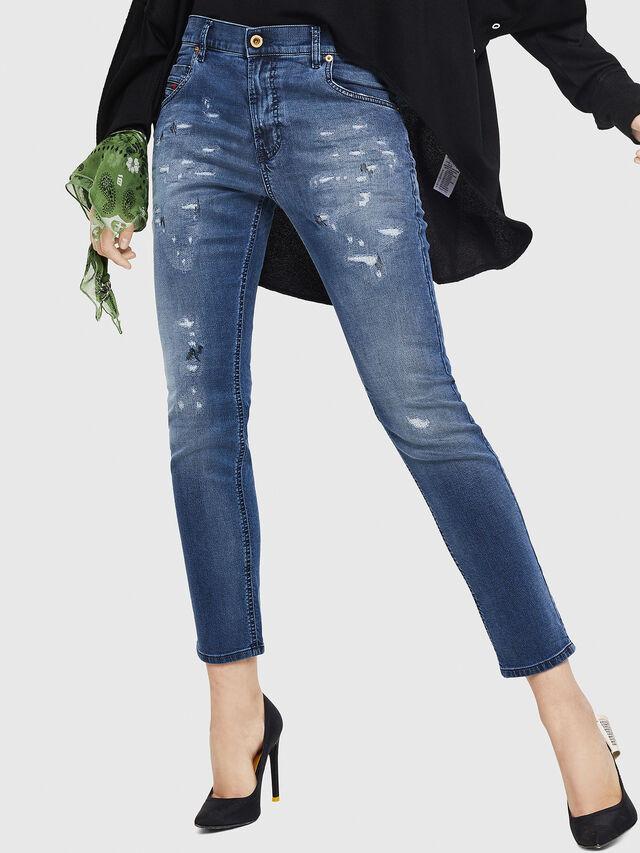 Diesel - Krailey JoggJeans 069HA, Medium blue - Jeans - Image 1