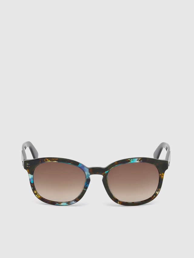 Diesel - DM0190, Blue/Black - Sunglasses - Image 1