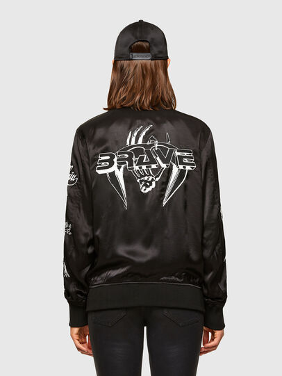 Diesel - J-SMOKED, Black - Jackets - Image 2