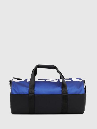 Diesel - BOLD DUFFLE, Black/Blue - Bags - Image 1