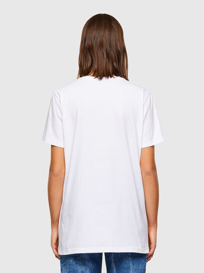 Diesel - T-DARIA-R2, White - T-Shirts - Image 2