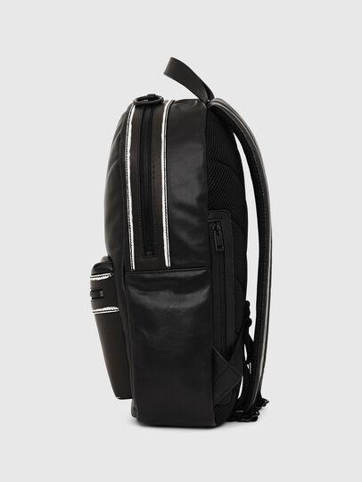 Diesel - ESTE, Black/White - Backpacks - Image 3
