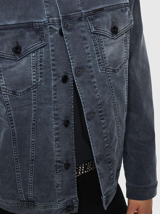 Diesel - NHILL JOGGJEANS, Black - Denim Jackets - Image 3