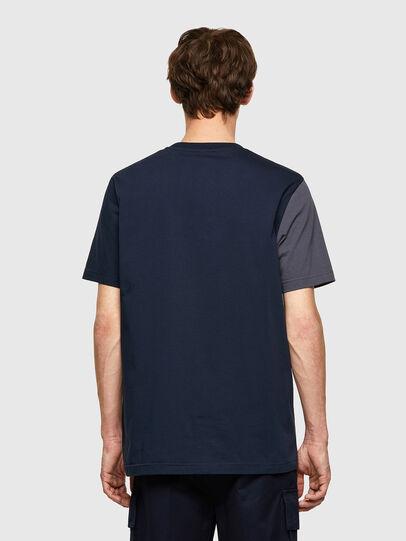 Diesel - T-RISEN-B1, Dark Blue - T-Shirts - Image 2