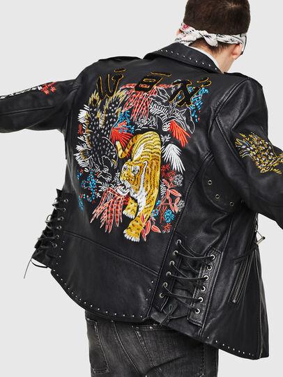 Diesel - L-JUNER,  - Leather jackets - Image 4
