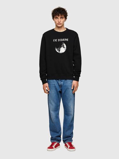 Diesel - S-GIRK-B4, Black - Sweaters - Image 4