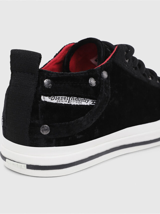 Diesel - EXPOSURE IV LOW  W, Black - Sneakers - Image 4