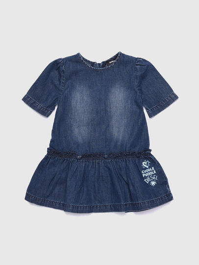 Diesel - DUOREB, Medium blue - Dresses - Image 1