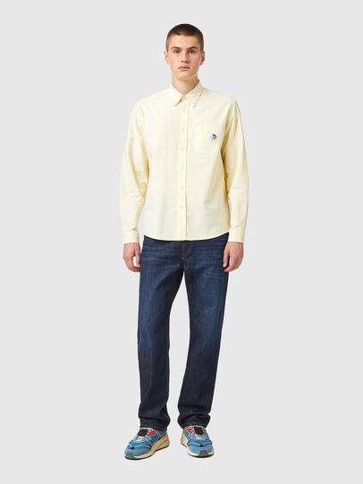 Diesel - S-JAMES-B, Yellow - Shirts - Image 4