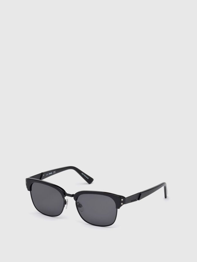 Diesel - DL0235, Black - Sunglasses - Image 2