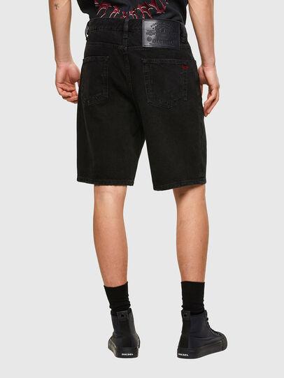 Diesel - D-STRUKT-SHORT, Black/Dark grey - Shorts - Image 2