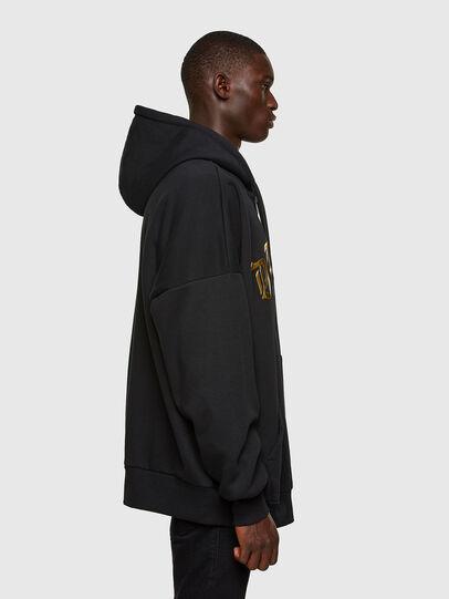 Diesel - S-OXI-ZIP-A1, Black - Sweaters - Image 4