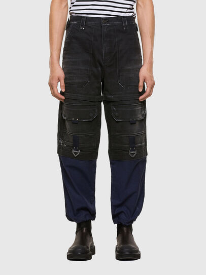 Diesel - D-Multy 009KX, Black/Blue - Jeans - Image 1