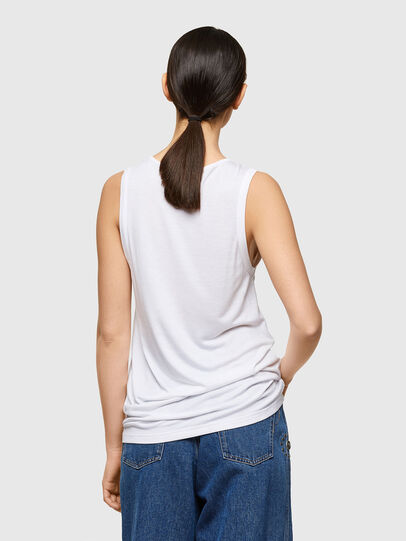 Diesel - T-ANK-A1, White - T-Shirts - Image 2