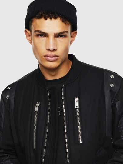 Diesel - W-GARBO, Black - Winter Jackets - Image 3