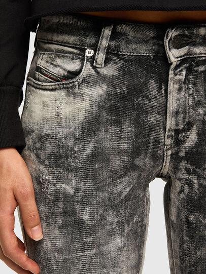 Diesel - D-Jevel 009FG, Light Grey - Jeans - Image 5