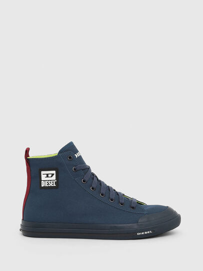 Diesel - S-ASTICO MID CUT, Navy Blue - Sneakers - Image 1