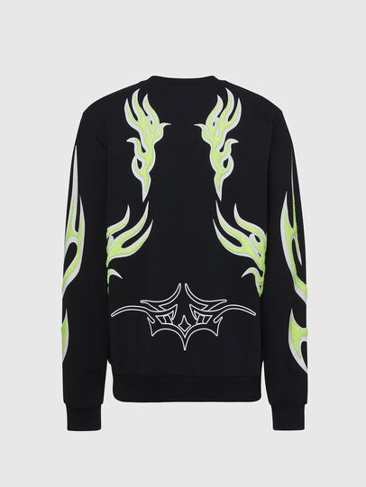 Diesel - F-ANG-E1, Black - Sweaters - Image 2