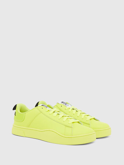 Diesel - S-CLEVER LOW LACE, Yellow - Sneakers - Image 2