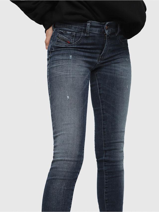 Diesel - Livier 0687L, Medium blue - Jeans - Image 3