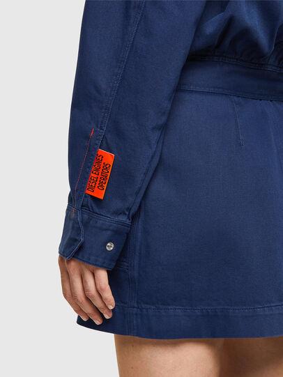Diesel - DE-ANGELICA-SP, Blue - Dresses - Image 4