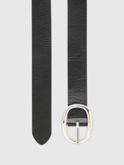 Diesel - B-ISIDE, Black/Grey - Belts - Image 3